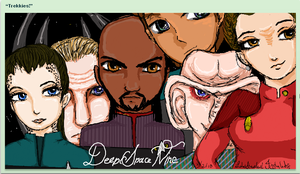 DS9 iscribble by DeadBelle