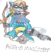 Archer of the MacCooper Clan by trexking45