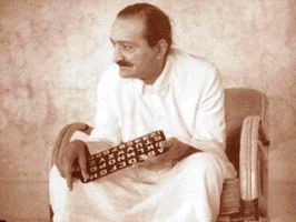 Silent Avatar Meher Baba by zoneone