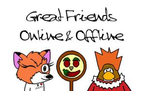 Mai Friends XD by Pizzaface4372