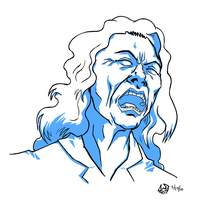 Warm Up - Tommy Wiseau by cmbarnes