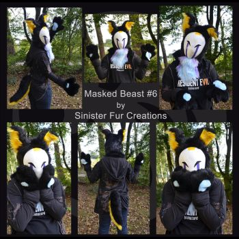 Masked Beast 6 -SOLD- by Metal-CosxArt
