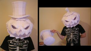 PEPAKURA - Halloween Pumpkin Head by distressfasirt