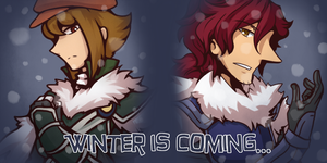 Winter is Coming: Alfendi and Lucy by Alavar-Randomity