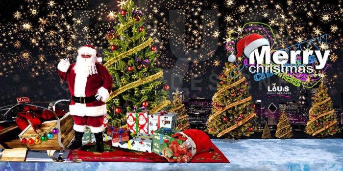 merry  chrstmas cover Fb timeline   2013 by minaluiz