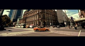 Melbourne Taxi Australia by Thrill-Seeker