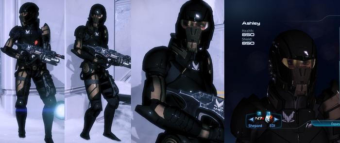 Ashley Spectre Armour by survivor686