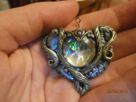 The Seeing stone magic crystal charm by SkekLa