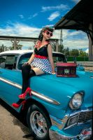 pin up photo style by FanoRED