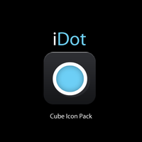 iDot Cube Icon Pack is Here by Dr-Bee
