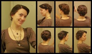 Side Swirls Hairstyle by Durnesque