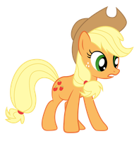 Applejack Vector by PaulyVectors