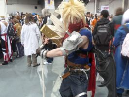 Kingdom Hearts Cloud by neomon