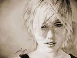 PENCIL PORTRAIT by mathio91