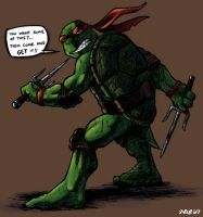 Raph's challenge to the world by Kobb
