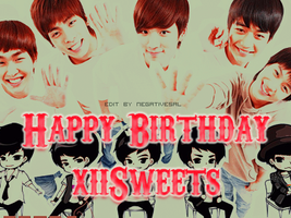 Happy birthday xiisweets by nibbpower