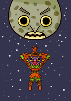 Majora's Mask by ellenent