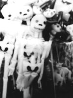 Skeleton Balloons by My-Disrespect
