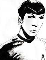 Mr. Spock by Sonic-Spider