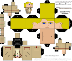 Cubee - The 5th Doctor by CyberDrone