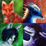 Icon commissions by Fyrrea