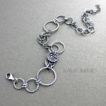 Sterling Silver Anklet by taniri