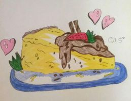Simply Cheesecake. by Claire-Petal-Splash