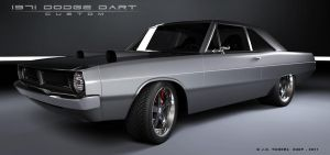 1971 Dodge Dart III by EtherealProject