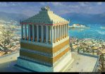 The Mausoleum of Halicarnassus by Pervandr