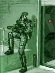 Metal Gear 1987 by nickdaring