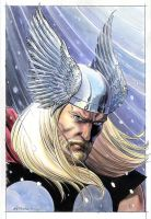 Thor Portrait 2012 by BillReinhold