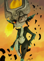 Twilight Princess: Midna by schellibie