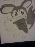 Emolga by Legendrawing