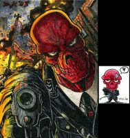 Red Skull ATC Colors by DKuang