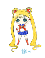 Sailor Moon Chibi by KudTheUntitled