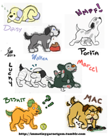 Animal Crossing New Leaf: Dogs (Part 2) by blackdog393