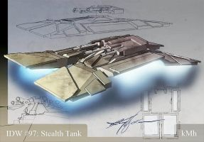 IDW 97 Stealth Tank by kmh108