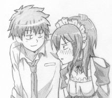 Usui and Misaki by Naruto179
