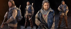 The Last Of Us ''BILL'' Custom Figure by Sheridan-J