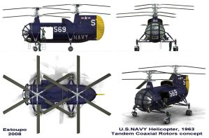 U.S.NAVY HELICOPTER CONCEPT by CUTANGUS