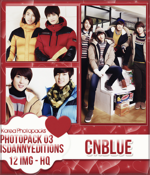 CNBlue - PHOTOPACK#03 by JeffvinyTwilight