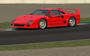 Ferrari F40 by matrixi