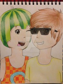 SimonHDS90 and Bodil40 by ShmileeFace