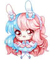 Pixel Pagedoll Cotton Candy by Volet