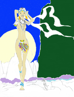 Touching up via windows paint by Yenk