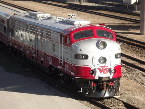 Wisconsin and Southern 101 by metalheadrailfan