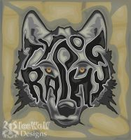 Typography Wolf by icewolf6622
