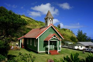 Old Kahakuloa Village Church by dale427