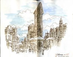 Afternoon at the Flatiron by crisurdiales