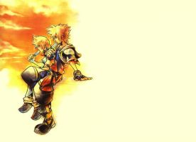 Kingdom hearts wallpaer 2 by kyubbi-sama
